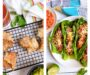 Taco Egg Rolls and Lettuce Wraps
